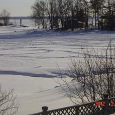 veduta invernale