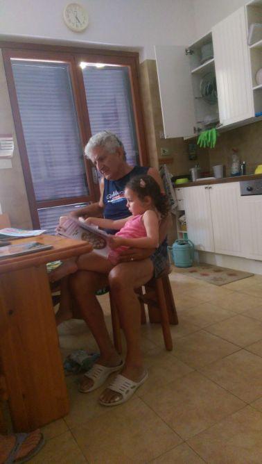 Luisa e nonno