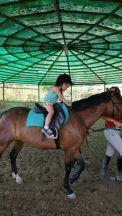Luisa a cavallo