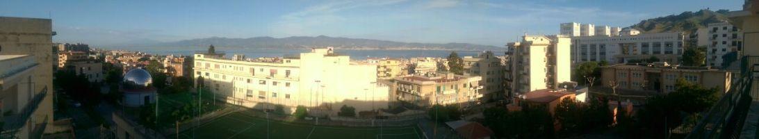 Panorama dal balcone di zia