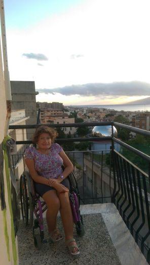 Sul balcone