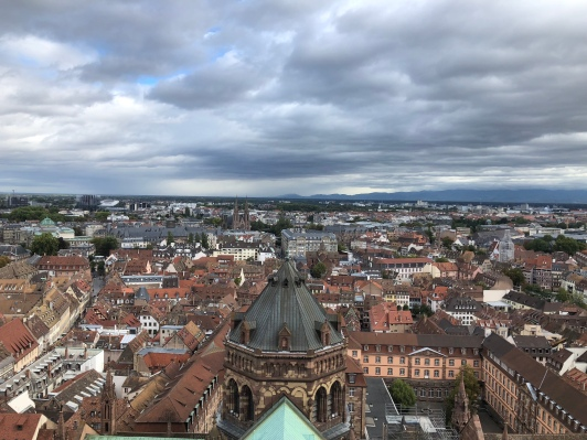 Strasbourg and Heidelberg