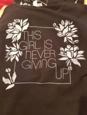Questa ragazza non molla mai